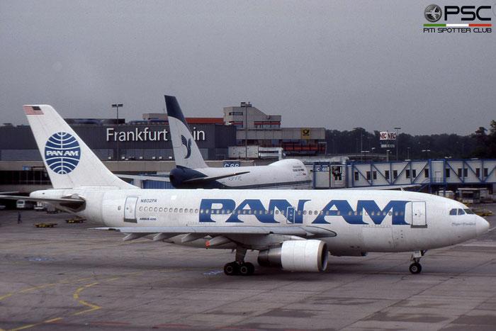 N802PA A310-222 333 Pan Am - Pan American World Airways © 2018 courtesy of Marco Ceschi - Piti Spotter Club Verona
