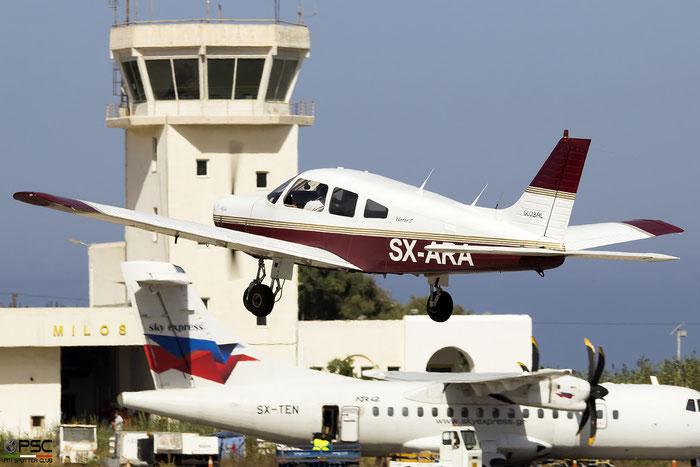SX-ARA - P28A - Piper PA-28-161 Warrior II - @ Milos 2020 © Piti Spotter Club Verona
