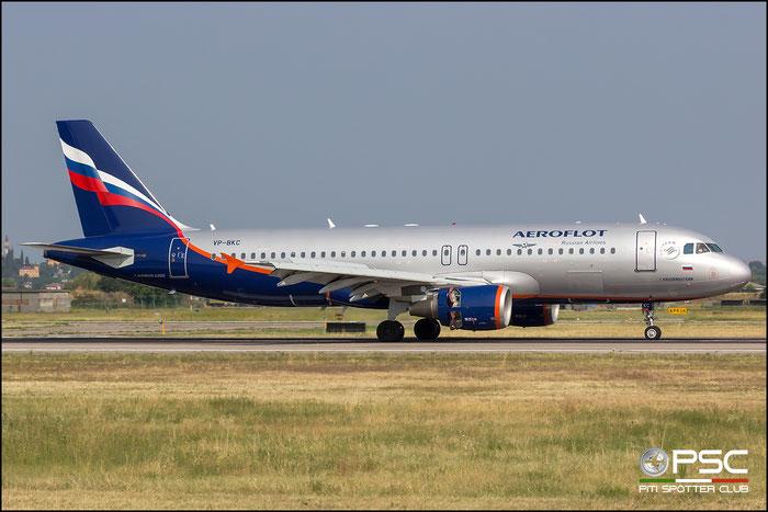 VP-BKC A320-214 3545 Aeroflot @ Aeroporto di Verona 14.07.2018  © Piti Spotter Club Verona