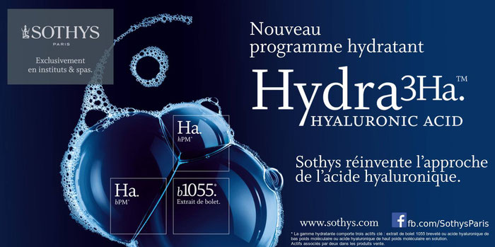 sérum intensif hydratant 3Ha Sothys