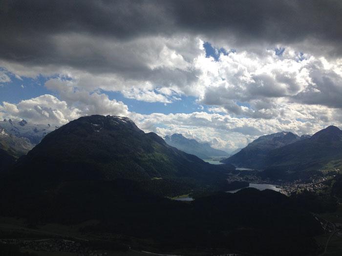St. Moritz ein beliebter Ort für Höhentraining.