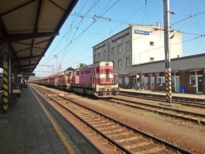 Hranice na Moravě, Güterzug