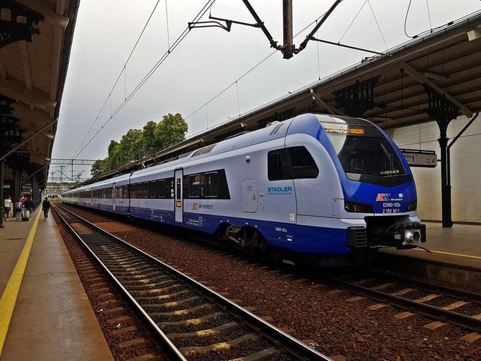 Ein Flirt mit der modernen Eisenbahn: ein FLIRT von Stadler