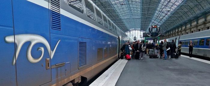 Bordeaux - hier steigen viele Reisende aus