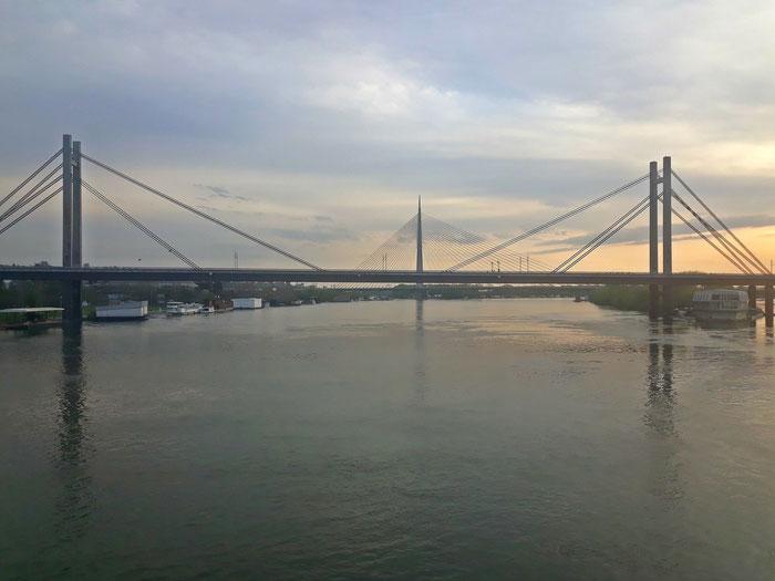 Belgrad, Save-Brücke