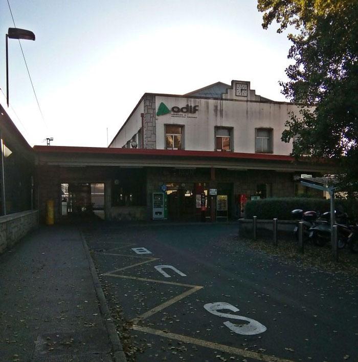 Irun - hier startet der Nachtzug nach Lissabon