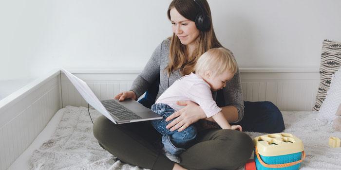Comment travailler à domicile efficacement avec des enfants ?