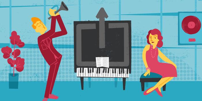 Faites découvrir votre musique en ligne avec un site web