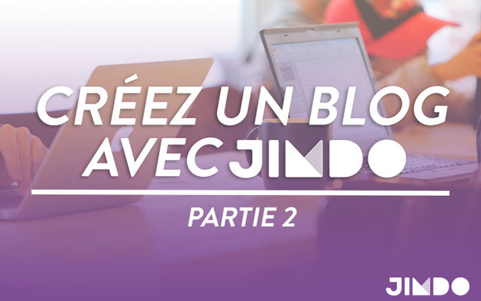 créer blog efficace Jimdo