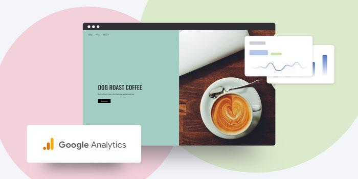 Statistiques de site Jimdo avec Google Analytics