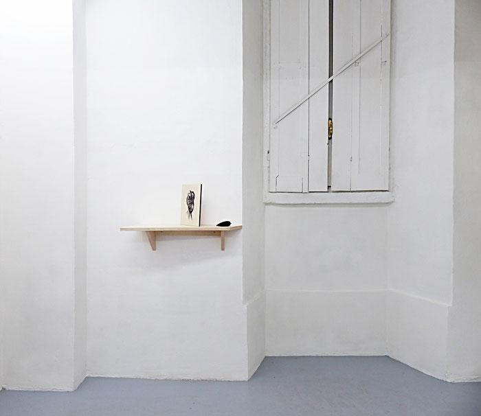Exhibition view, Osservatorio #1, 2017, Dimora Artica, Milano
