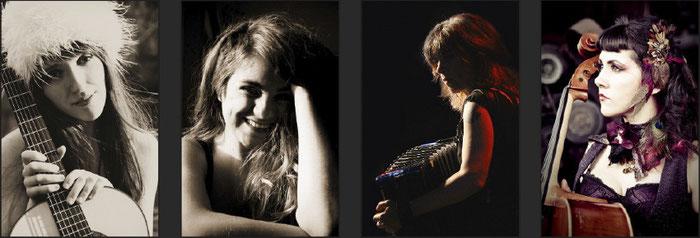 Kyrie Kristmanson - Stephanie Nilles - Rachelle Garniez - Ashia Grzesik & The Bison Rouge