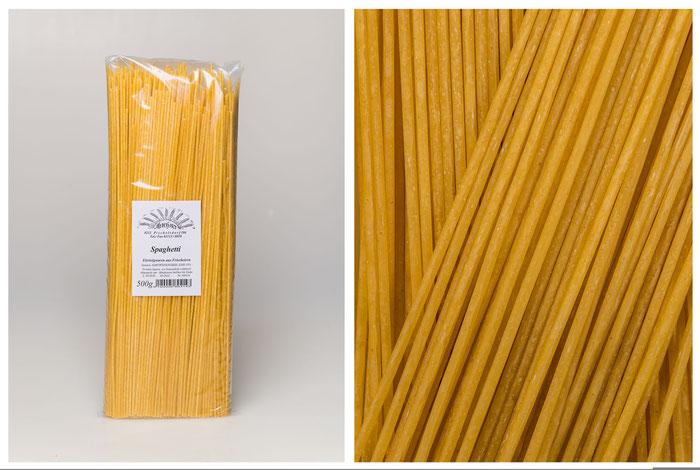 Spaghetti - Eierteigwaren aus Frischeiern (500g)