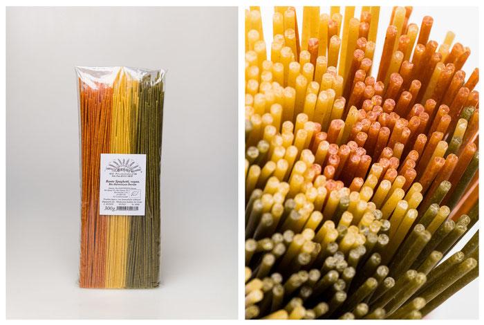 BIO Durum Bunte Spaghetti (300g).