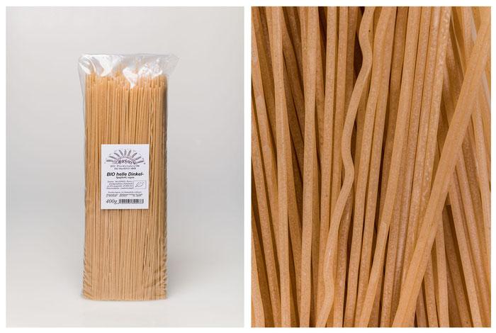 BIO helle Dinkel Spaghetti (400g).