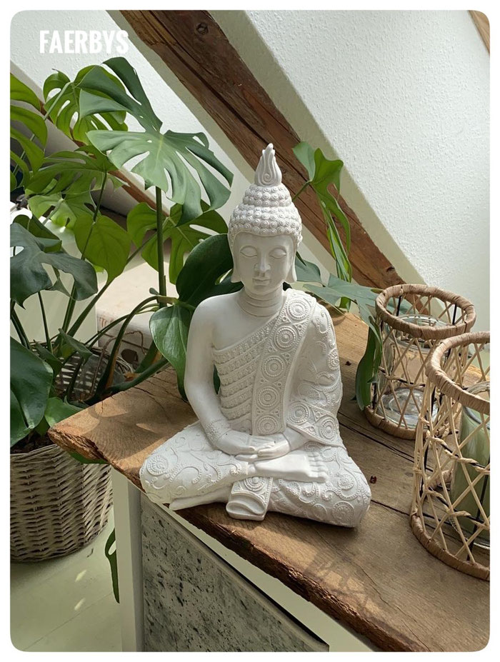 #Buddha #faerbys #BTonG #Buddhafiguren #steinfiguren