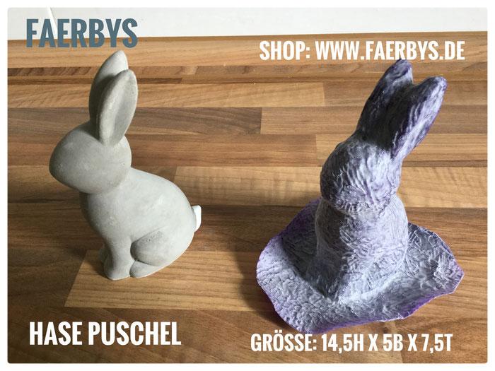 #Gussformen für Beton, #ostern #hase #häschen #puschel #latexform #cement mold