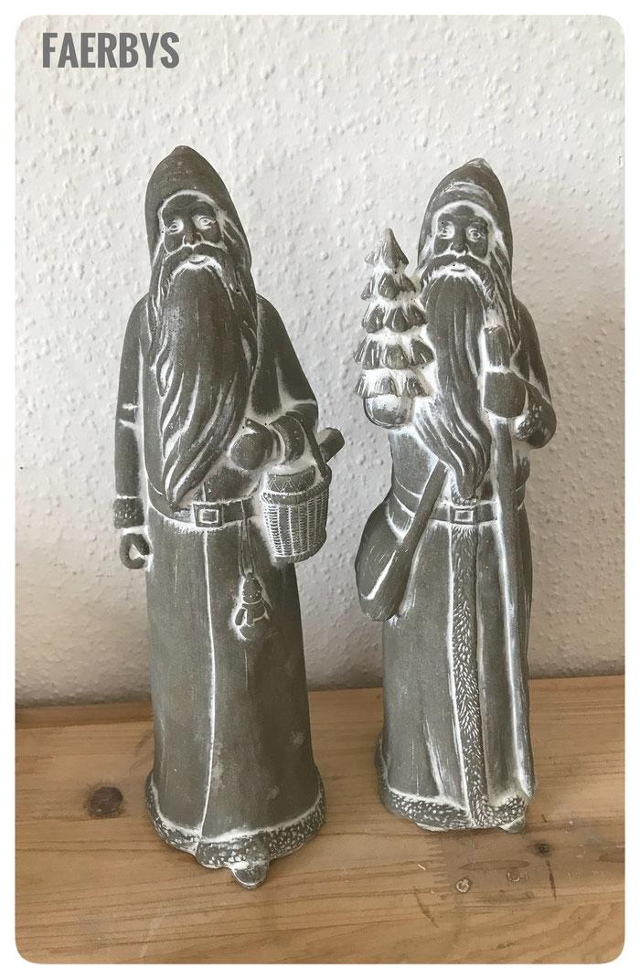 #betonfiguren #steinguss # weihnachten #weihnachtsmann #betonguss #gussformen beton #gießformen beton