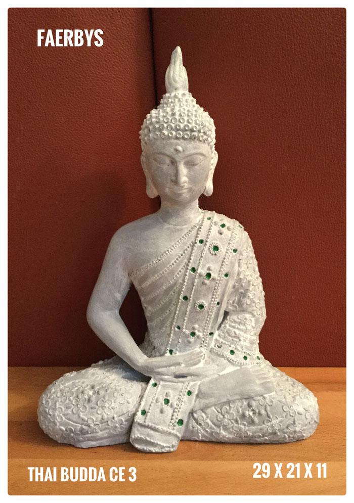 Buddha Gussform aus Latex oder aus Beton gegossen