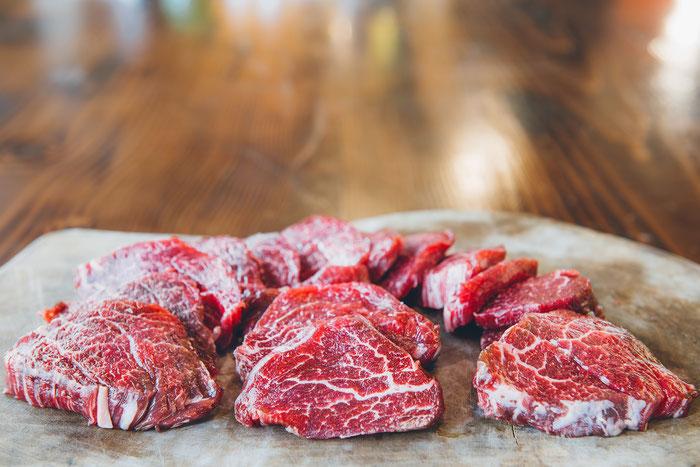 Wagyu, Wagyu-Fleisch, Kobe, Steak, Filet, Fleischdelikatessen, regionales Fleisch, Schwaben, Rinderzucht, Qualitätsfleisch, beste Qualität