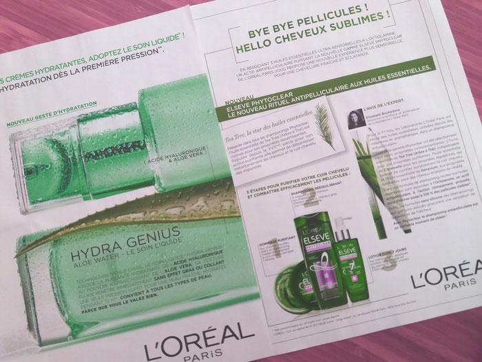 A L'Oreal iniciou com o uso maciço de extratos vegetais em substituiçào à milagrosa quimica futurista.