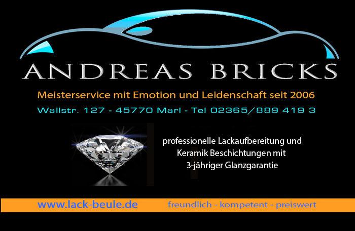 Bei Andreas Bricks in Marl gibt es einen professionellen Lackschutz mit Fahrzeugaufbereitung. Sollte das Auto noch Kratzer aufweisen, werden diese vom Lackdoktor aus Meisterhand entfernt.