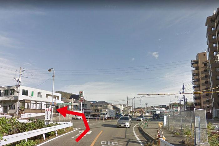 呉市斎場_呉方面からの入口