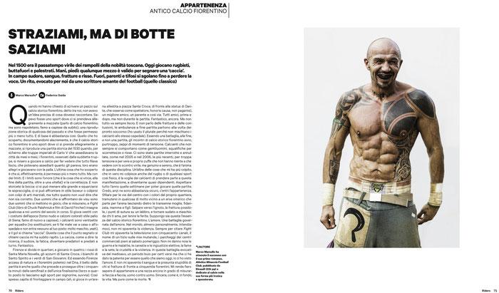 Calcio Storico Fiorentino on Riders #94