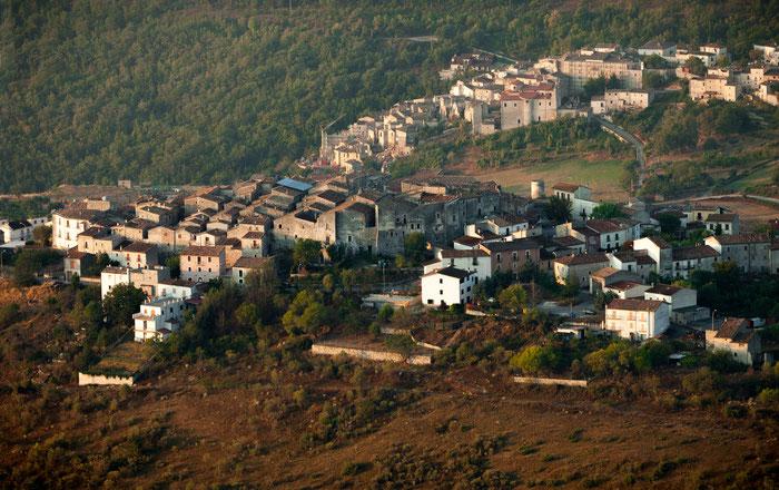 Castelvecchio Calvisio, panorama