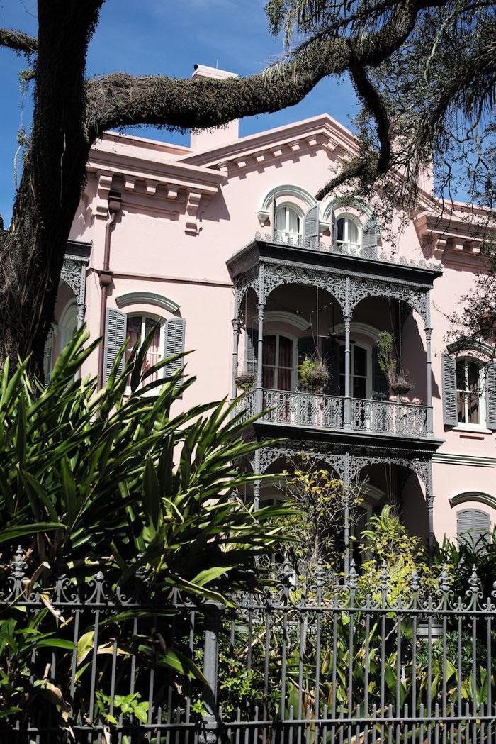 """Im Garden District von New Orleans - wir haben das """"Kleingeld"""" (7.500.000 $) für ein solches Haus nicht gerade passend dabei."""