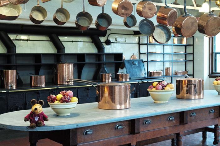 Maus bei Vanderbilts in der Küche