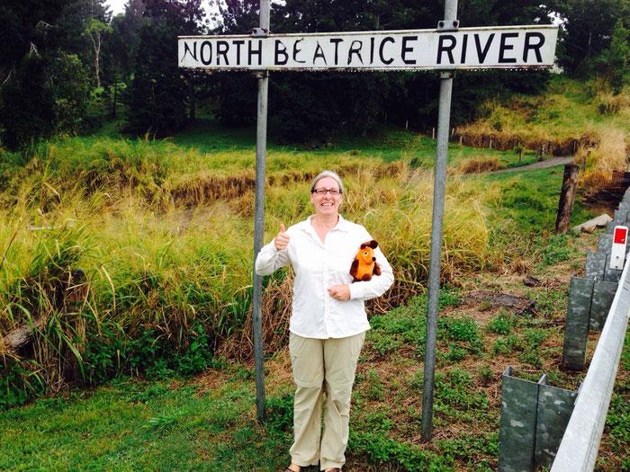 ...und wo es einen Beatrice-River gibt, gibt es natürlich auch einen North Beatrice - River