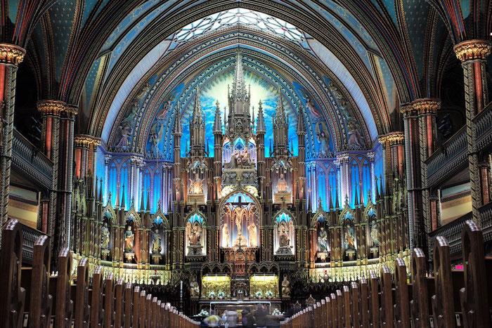 In der Basilika Notre-Dame de Montréal