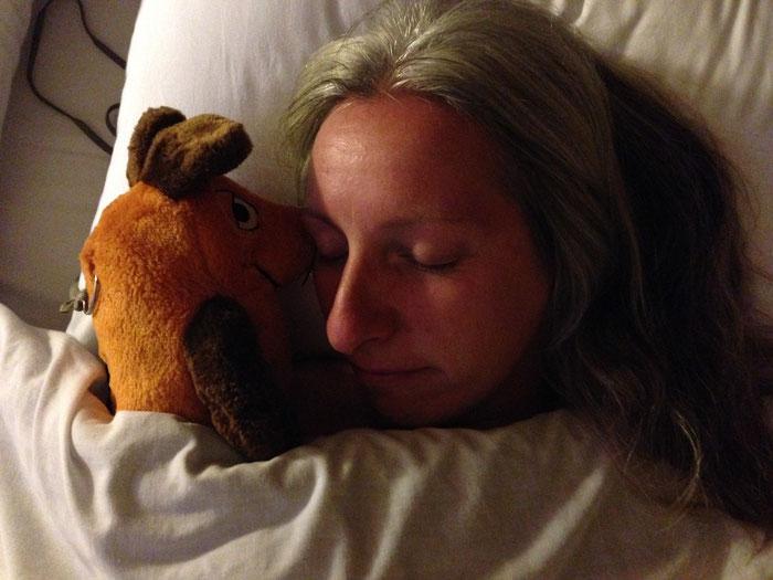 Eine müde und eine kranke Weltreisende - endlich in Latacunga angekommen