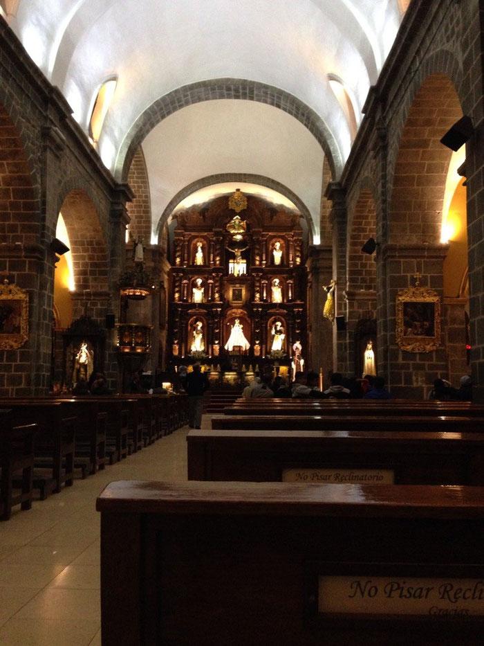 Die Kirche Santo Domingo