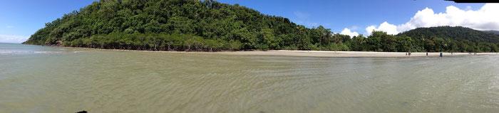 Kulki-Beach am Cape Tribulation
