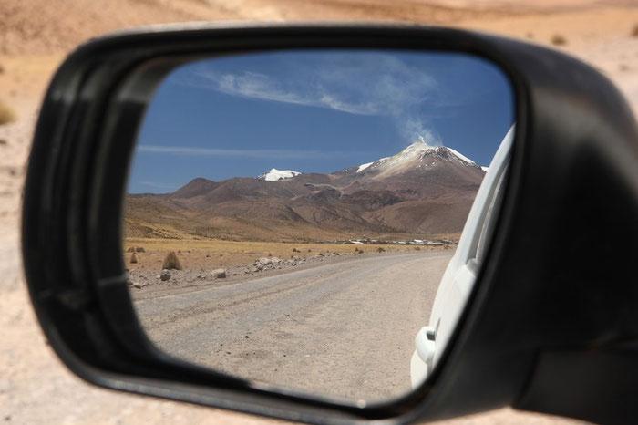 Piste und Vulkane - unsere Begleiter für heute