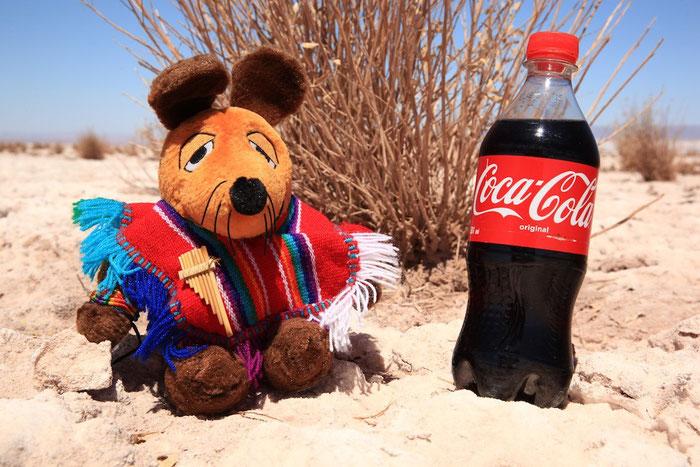 In der trockensten Wüste der Welt habe ich Durst !!!