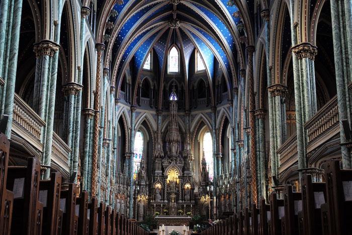 In der Kathedrale Notre Dame