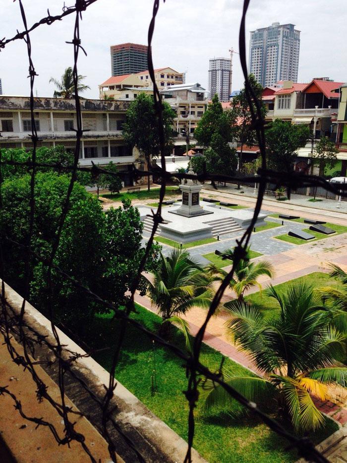 Das war sehr harte Kost: das Tuol-Sleng-Genozid-Museum in Phnom Penh