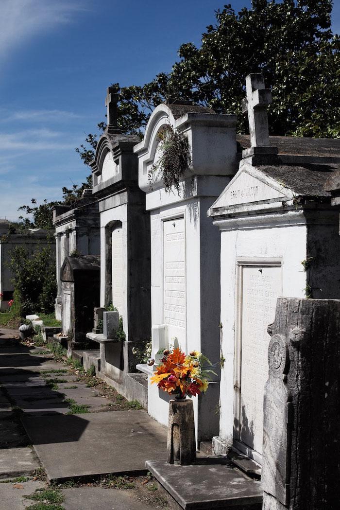 """""""Beerdigungen"""" gibt es in New Orleans nur oberirdisch."""