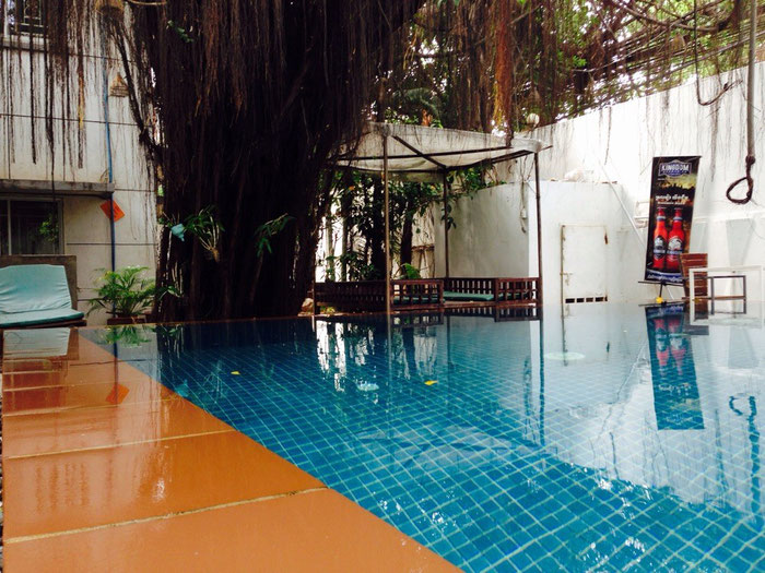 "Unser Pool im Hotel ""Circa 51"""