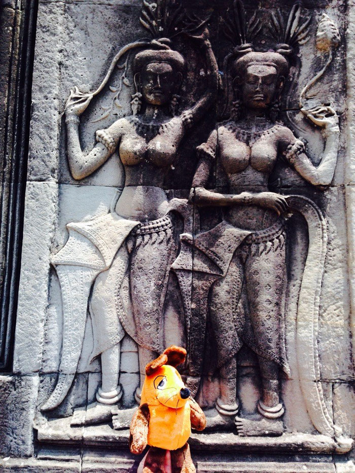 Maus in Angkor Wat