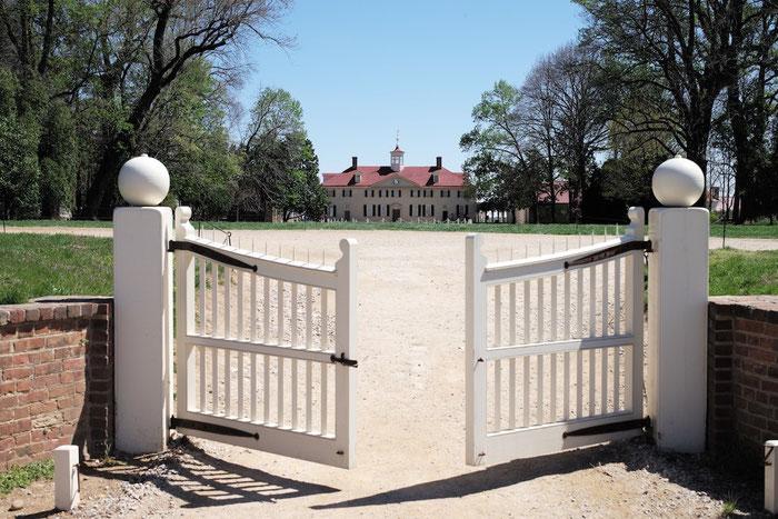 Mount Vernon - ohne störende Touristen