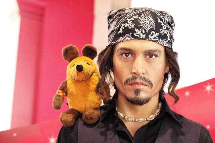 ......Johnny Depp - das passiert nur in Las Vegas !