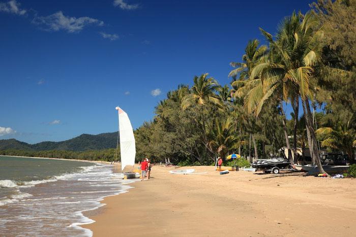 Der Strand von Palm Cove