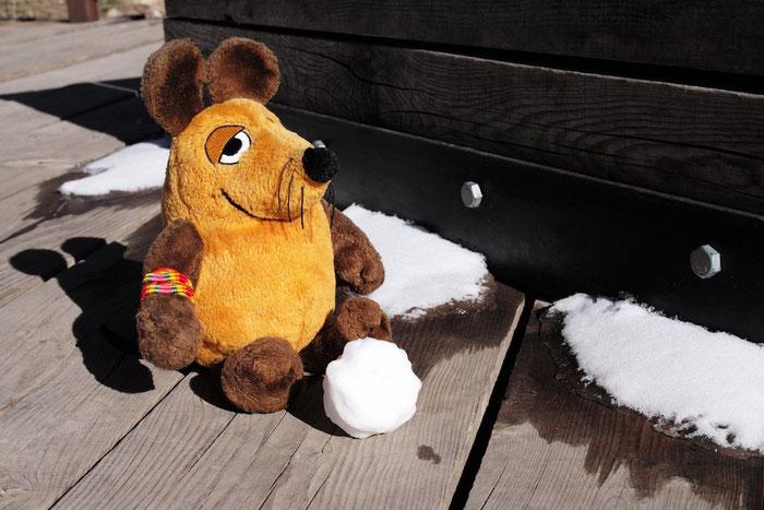 Nein, das ist kein weißer Sand, das ist Schnee !!
