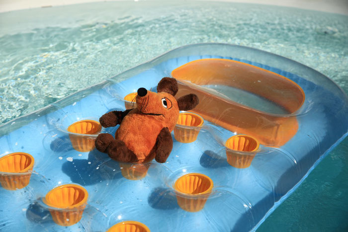 Den Pool nutzte ich gleich, um mich von der Anreise abzukühlen.