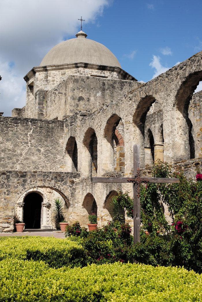 ....der Mission San José y San Miguel de Aguayo,.....