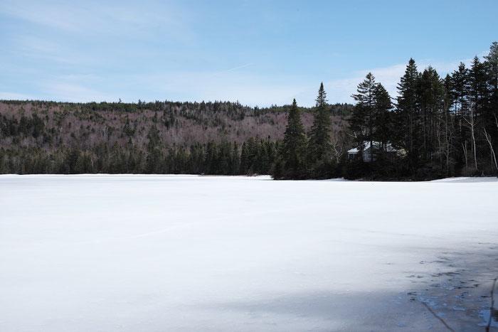 Winterliche Stimmung am Lake Parlin